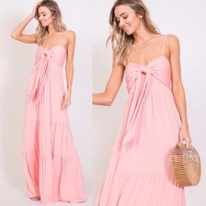 BELLE Ruffle Maxi Dress